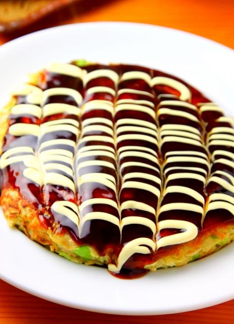 【メレンゲの気持ち】ビッグなソースマヨキャベツつくね(お好み焼き)の作り方 てぬキッチンのレシピ(2月13日)