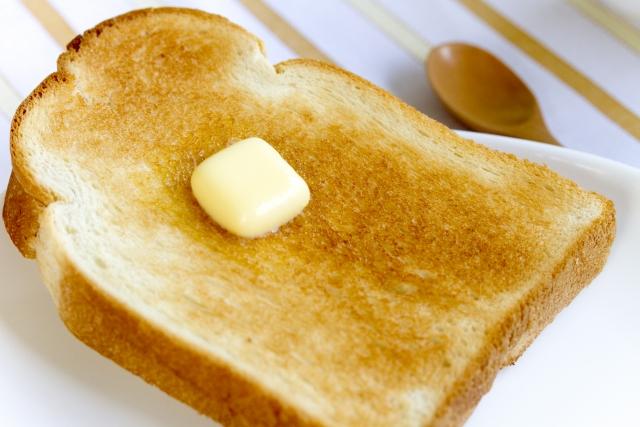 トーストの焼きムラ