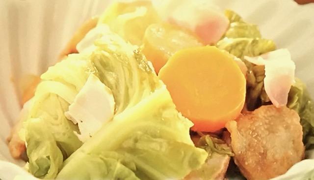 【沸騰ワード10】伝説の家政婦・志麻さんの『キャベツと鶏肉のブレゼ』レシピ作り方