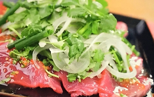 【沸騰ワード10】(4月10日)伝説の家政婦・志麻さんの『カツオのタイ風サラダ』レシピ
