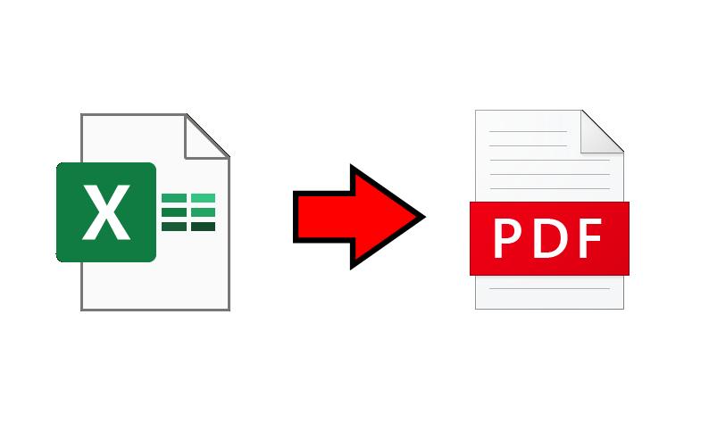 エクセルファイルをpdfファイルで保存する方法