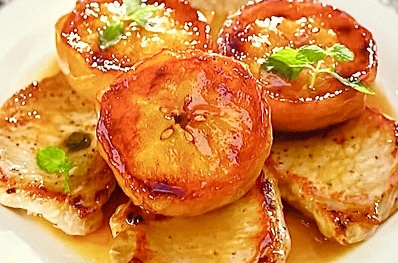 【沸騰ワード10】ポークソテーのりんご添えの作り方 志麻さんレシピ(7月10日)