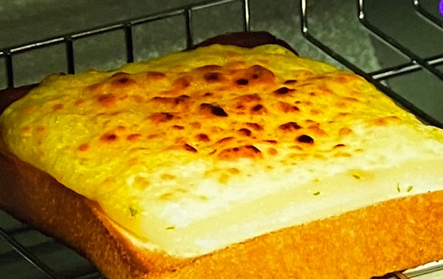 【所さんお届けモノです】バスクチーズケーキ風トーストの作り方(ロバート馬場さんアレンジレシピ)パンのおとも祭り(10月25日)