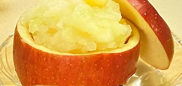 りんご シャーベット