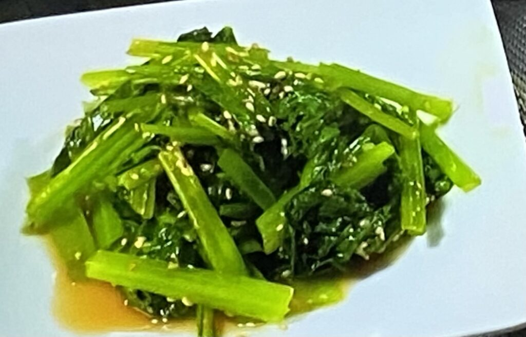 【あさイチ】小松菜のおひたし(だし解凍)の作り方 レシピ(5月12日)