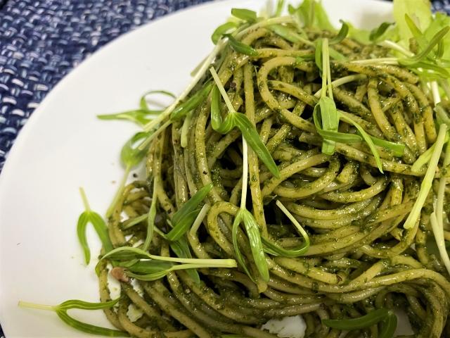 【青空レストラン】春菊のジェノベーゼ風パスタの作り方 春菊レシピ