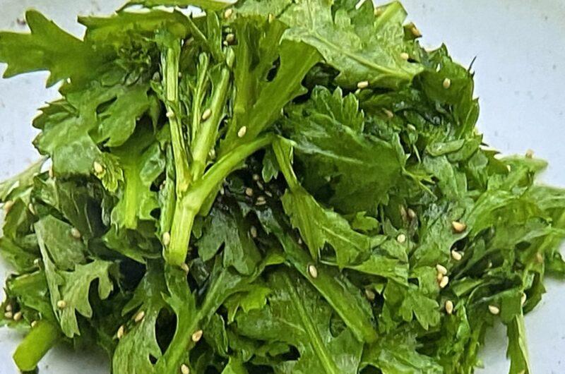 【青空レストラン】春菊のチョレギサラダの作り方 春菊レシピ