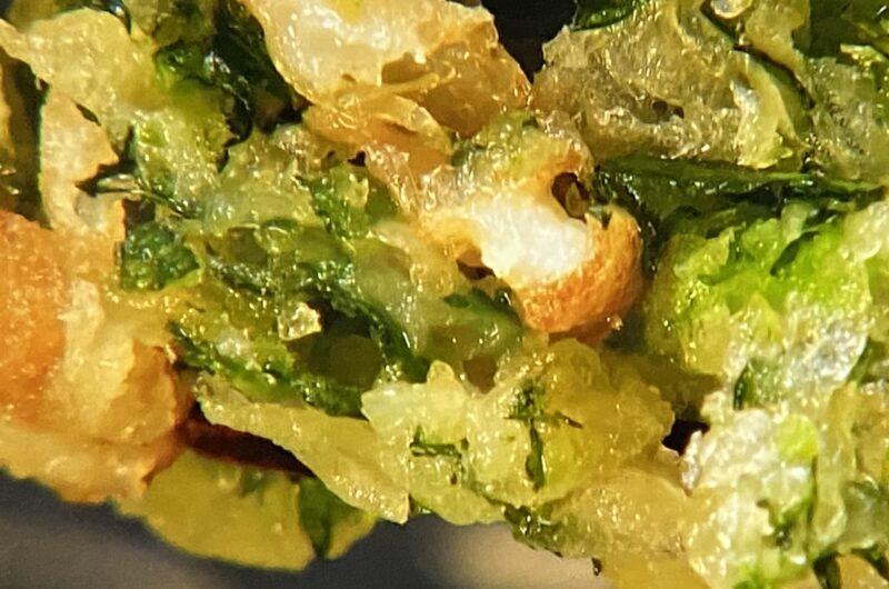 【青空レストラン】春菊とちくわのかき揚げ(天ぷら)の作り方春菊レシピ