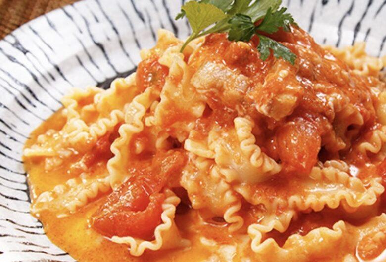 【青空レストラン】トマトチーズパスタの作り方 生パスタレシピ (3月6日)
