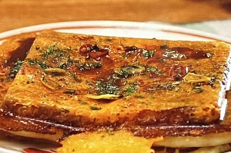 【ざわつく金曜日】ペペロンチーズギョーザの作り方  ホットサンドメーカーレシピ(3月19日)