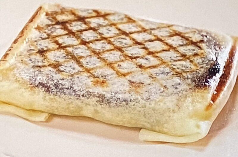 【ざわつく金曜日】春巻きの皮チョコバナナクレープの作り方  ホットサンドメーカーレシピ(3月19日)