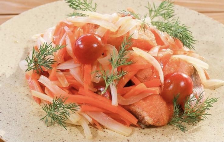 【青空レストラン】マスのエスカベッシュの作り方 プレミアムヤシオマスでフレンチフルコース(3月13日)