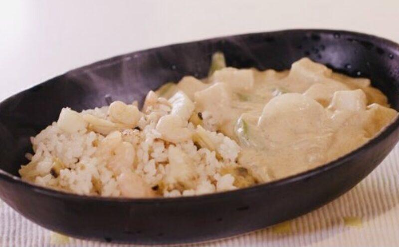 【スッキリ】ホワイトカレーの作り方 鳥羽周作シェフのレシピ(4月21日)
