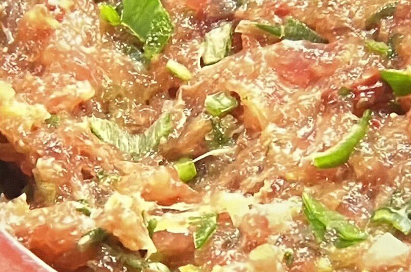 【マツコの知らない世界】初ガツオのなめろう(極上定食)の作り方 さかなクンおすすめレシピ(4月13日)