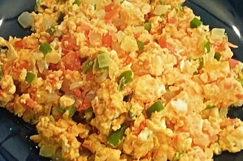 【ZIP】メキシコ卵料理ウエボス・ア・ラ・メヒカーナの作り方 世界の卵料理早さ決定戦(4月16日)