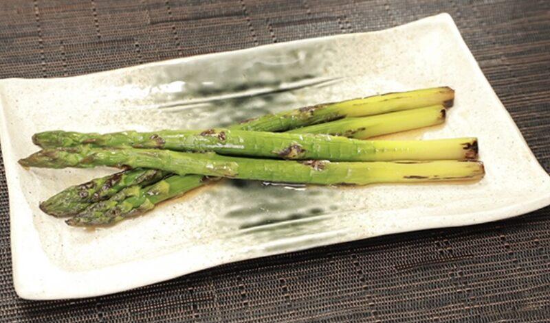 【相葉マナブ】アスパラの焼きびたしの作り方 伊勢崎アスパラガス料理(4月25日)