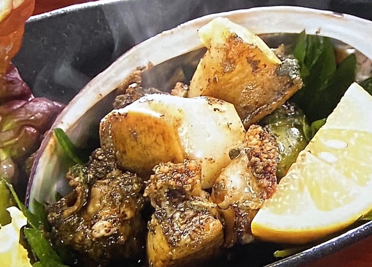 アワビのバター焼き 味処とっくり せっかくグルメ