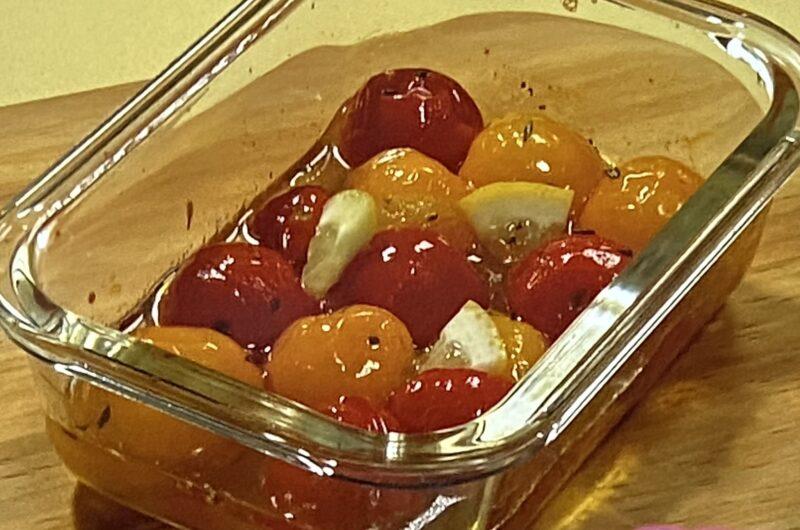 【あさイチ】トマトのマリネの作り方 ガラス保存用機活用術(4月27日)