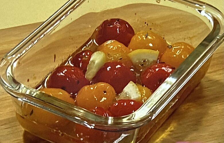トマトのマリネ あさイチ