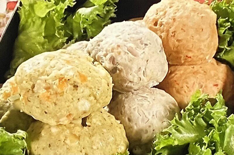 【ウワサのお客さま】3色ふわふわ鶏だんごの作り方 コストコ 谷あさこさんお花見レシピ(4月2日)