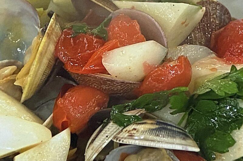 【あさイチ】うどとあさりのイタリア風蒸し煮の作り方 「みんなゴハンだよ」レシピ(4月14日)