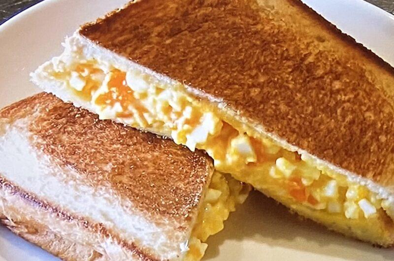 【シューイチ】熱々マヨとろサンドの作り方 たまごサンドレシピ(4月18日)