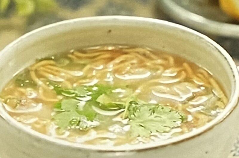 【ラヴィット】エスニック風鶏白湯スープラーメンの作り方 アマノフーズアレンジレシピ(4月13日)
