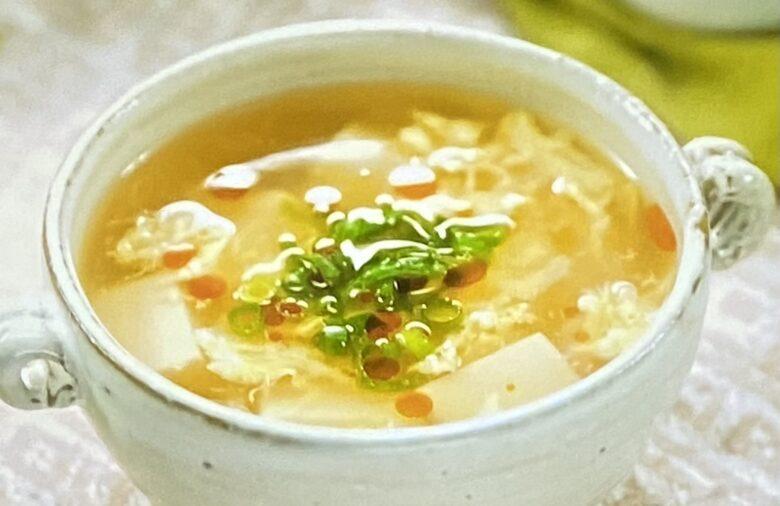 酸辣湯風オニオンスープ
