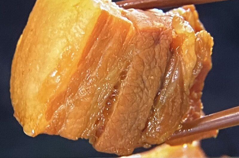 【ヒルナンデス】豚の角煮の作り方 簗田シェフの豚肉調理法レシピ(5月19日)