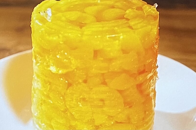 【ラヴィット】みかんゼリー(缶丸ごとありえ値ぇドデカみかんゼリー)の作り方 ドンキの達人レシピ(5月10日)