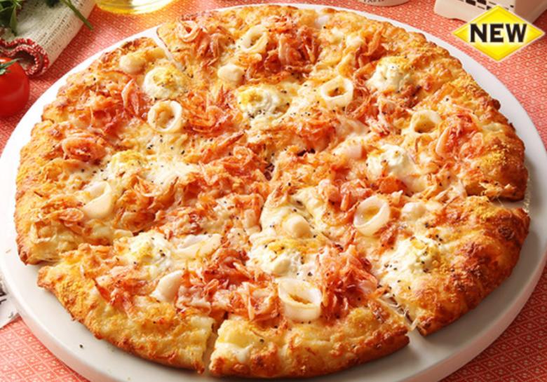 ピザーラ桜海老のシーフードピザ