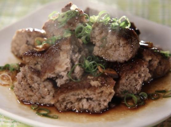 合いびき肉のサイコロステーキ リュウジ ヒルナンデス