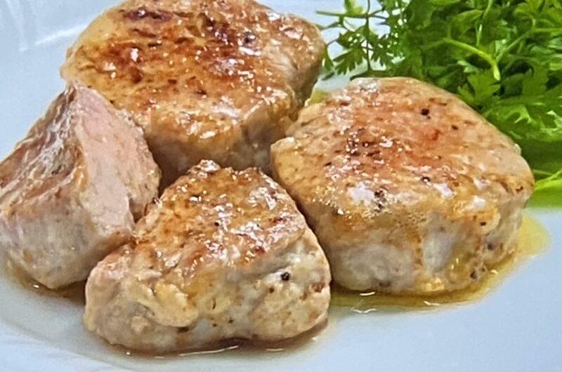 【ヒルナンデス】豚ヒレ肉のムニエルの作り方 水島弘史さん豚肉調理法豚肉調理法レシピ(5月19日)