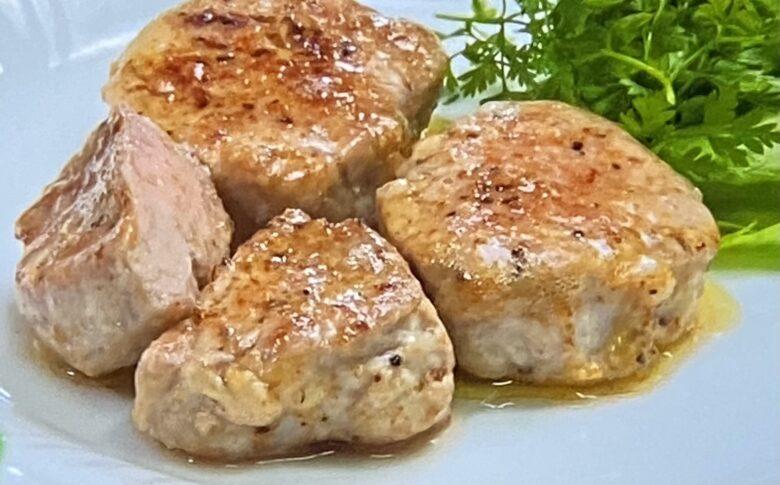 豚ヒレ肉のムニエル ヒルナンデス