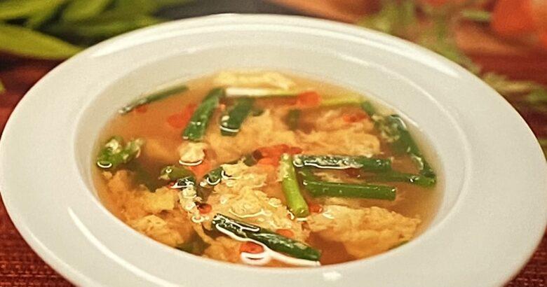 酸辣湯風スープ ZIP 餃子のタレ