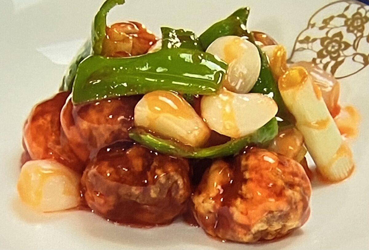 酢豚 ホテルオークラ ヒルナンデス