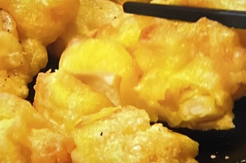 【ヒルナンデス】木綿豆腐とトウモロコシのかき揚げの作り方 絹ごしVS木綿豆腐レシピ(6月23日)