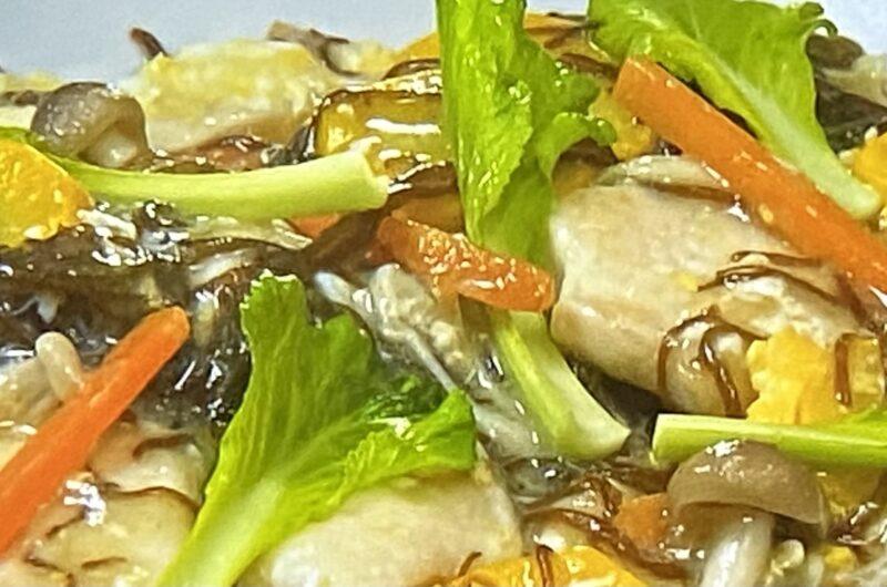 【あさイチ】鶏胸肉のもずくあんかけの作り方 もずくのレシピ (6月1日)