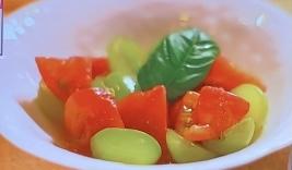 トマトのひんやりサラダ