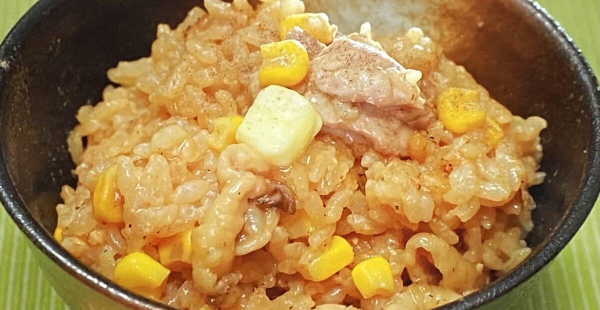 味噌バターコーン釜飯 相葉マナブ