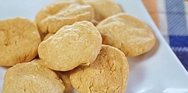 ピーナッツバターカルダモンクッキー ヒルナンデス