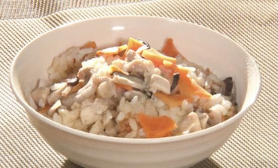 鶏と根菜の混ぜ込みご飯 ヒルナンデス