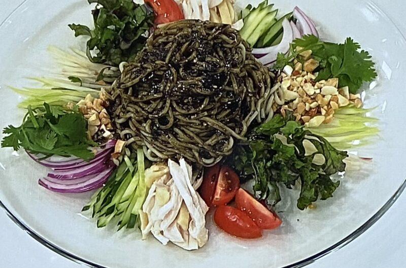 【あさイチ】黒い冷やし中華の作り方 井桁良樹シェフのレシピ(6月10日)