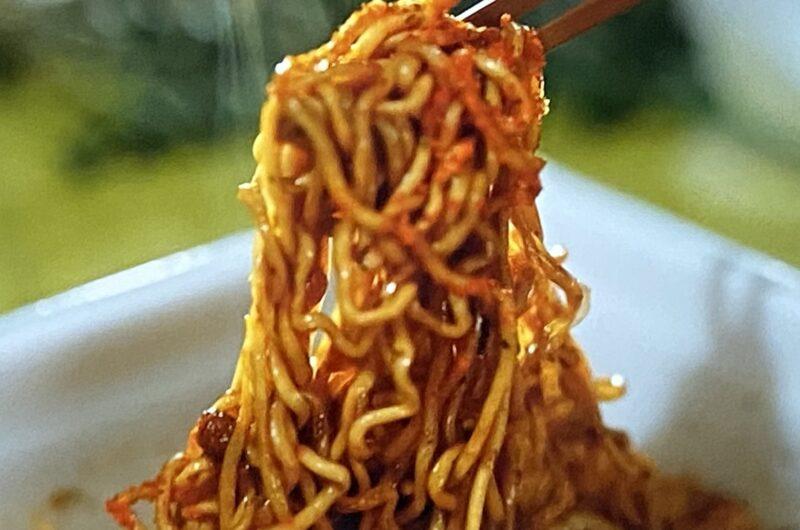 【ラヴィット】磯香るピリ辛ソース焼きそばの作り方 カップ焼きそばアレンジレシピ(6月22日)