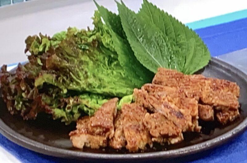 【あさイチ】豚肉の味噌焼きの作り方 藤井恵さんのレシピ(6月14日)