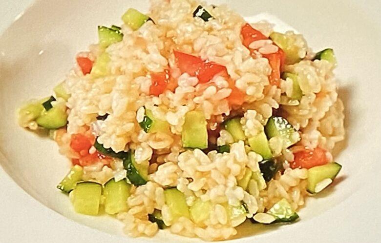 お米のサラダ ヒルナンデス
