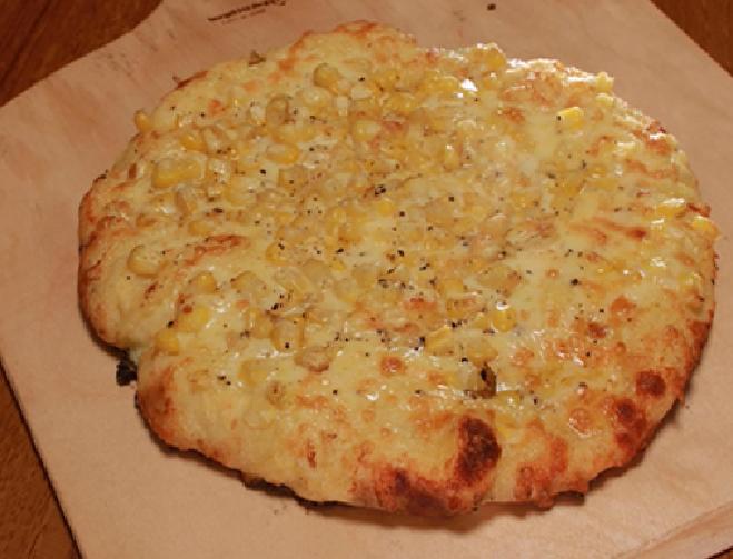 とうもろこしピザ