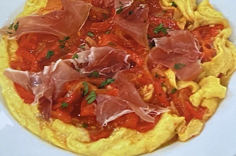 【あさイチ】ピペラード(トマトの蒸し煮 オムレツ風)の作り方 脇雅世さんのフランス家庭料理レシピ(7月7日)