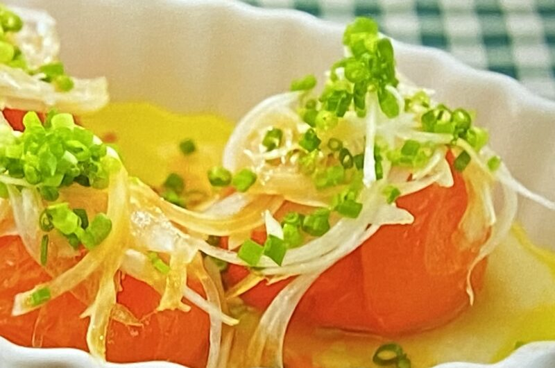 【沸騰ワード】冷凍トマトサラダの作り方 家政婦志麻さんレシピ(7月9日)