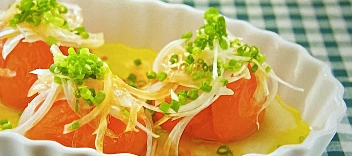 冷凍トマトサラダ 沸騰ワード